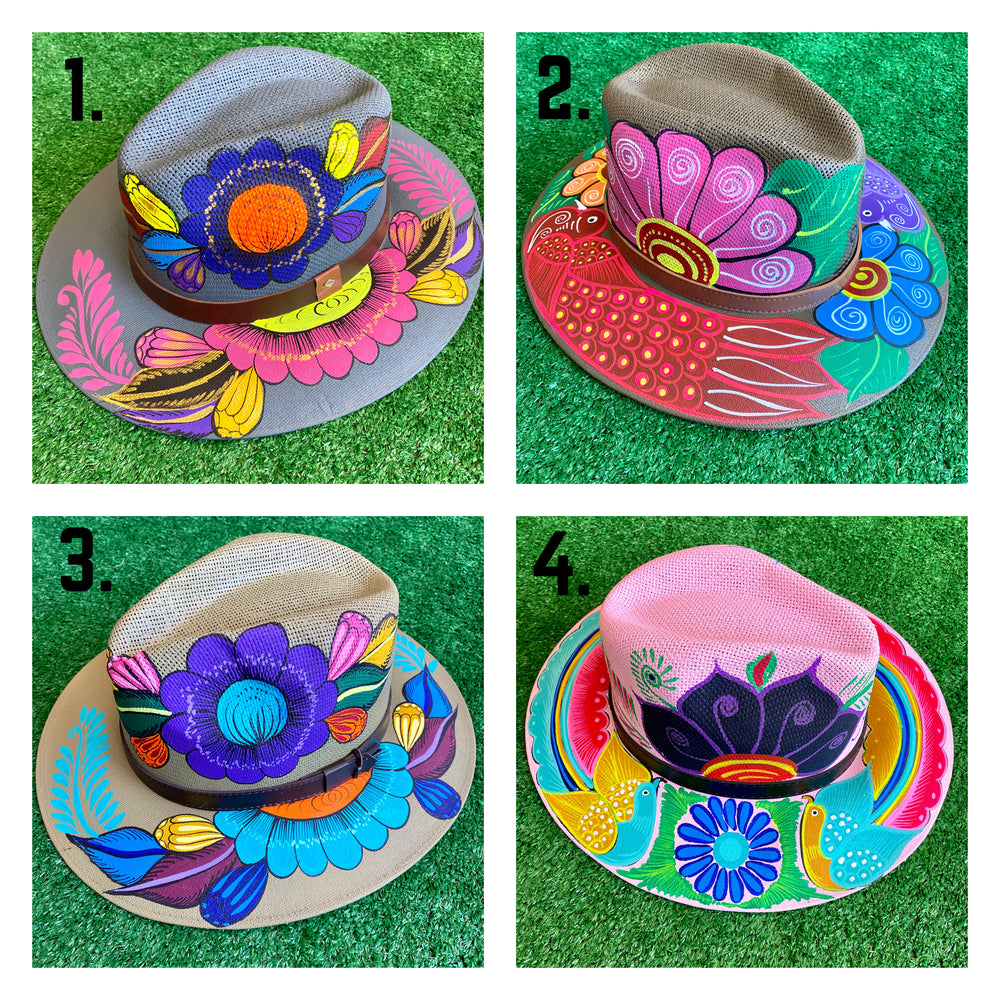 Hand-Painted Hats