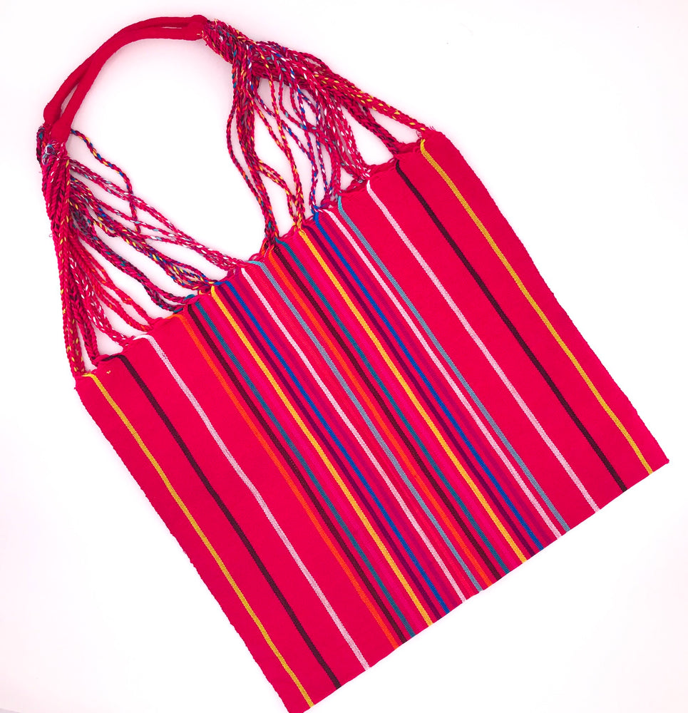 "The ""Hammock"" Bag in Red"
