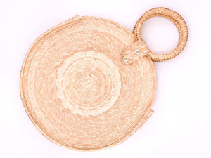 Palm Leaf Round (plain)