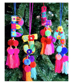 Letter Tassel/Ornament