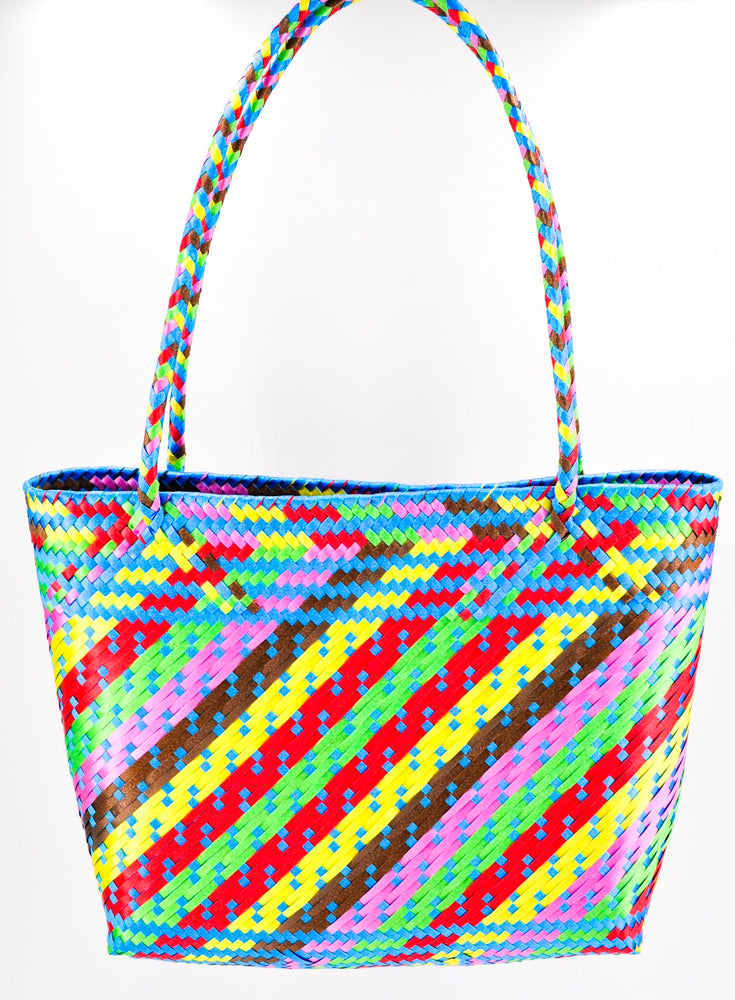"The ""Mexicana"" Bag in Rainbow"