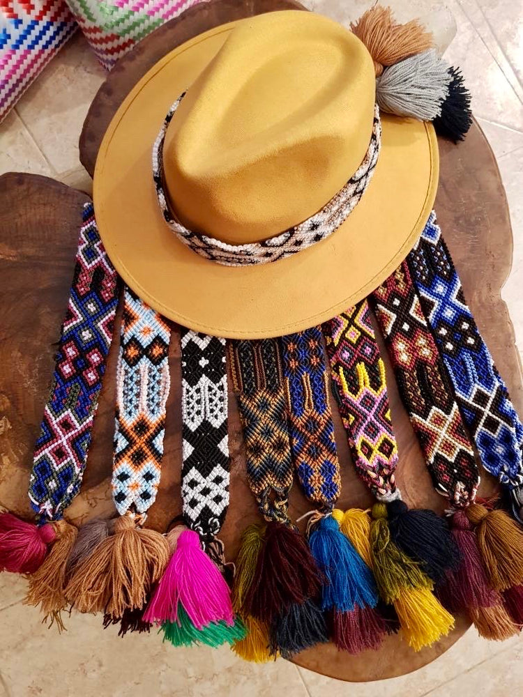 Hat Bands (Friendship Style)
