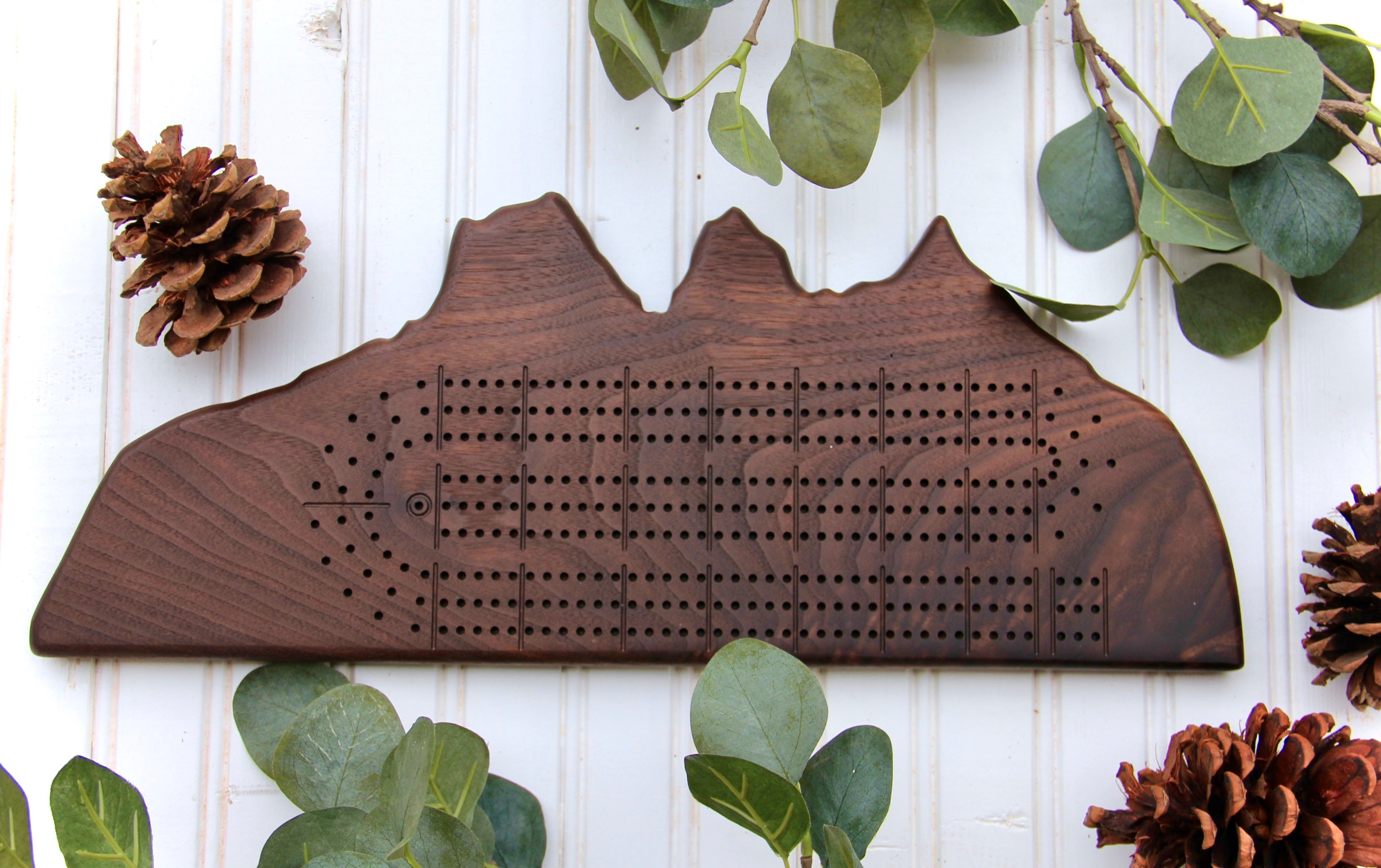 Custom Shape Cribbage Boards