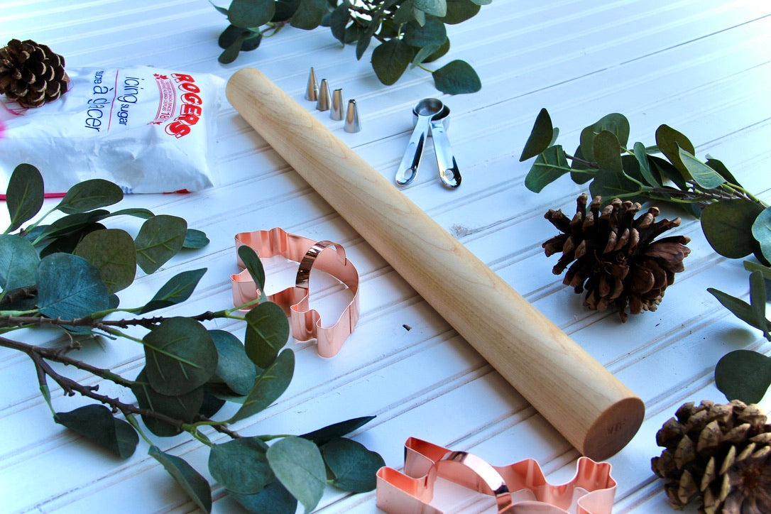 Solid Maple Rolling Pin