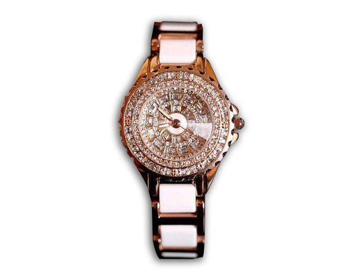 Ceramic Diamond Watch