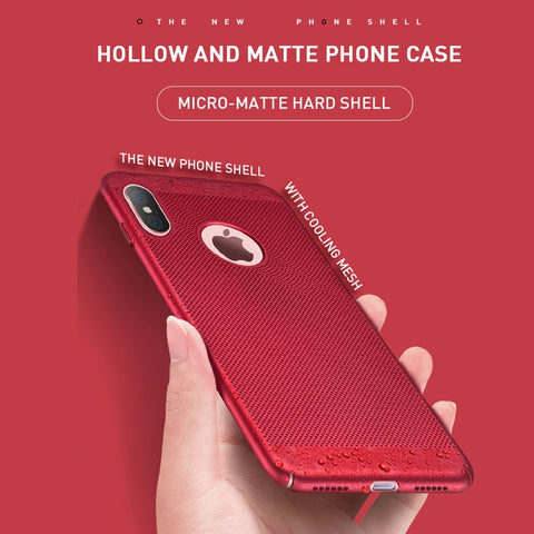 Hollow Matte Phone Case