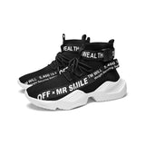 Elastic Slogan Shoes