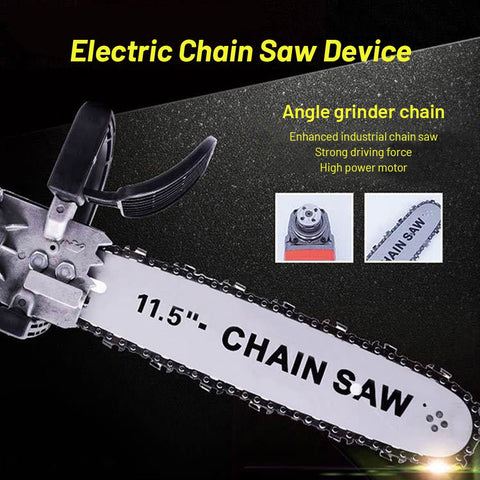 Electric Chain Saw Device