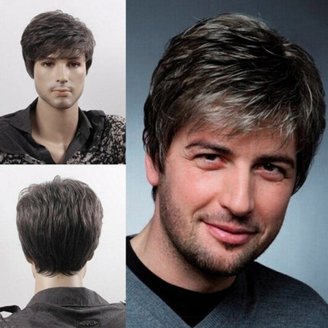 Men's Fluffy Wigs (flory white)