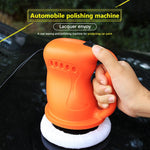 Automobile polishing machine