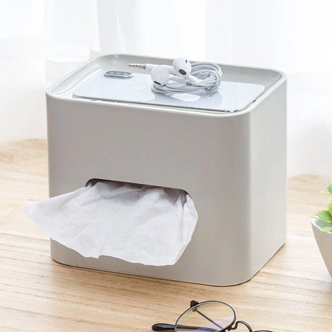 Simple Solid Color Tissue Box