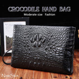 Crocodile hand bag