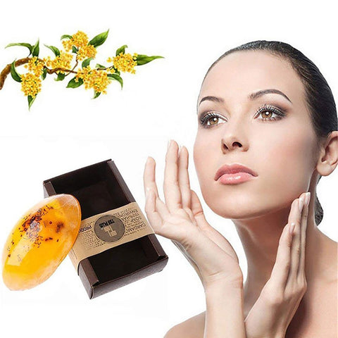 Osmanthus Flower Whitening Soap