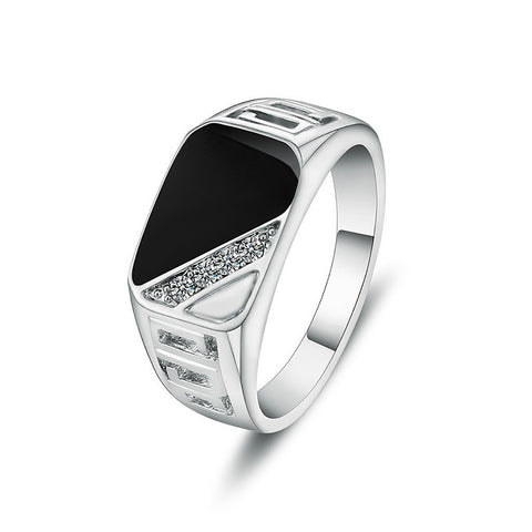 Fashion square men ring