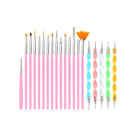 20Pcs Nail Art Set