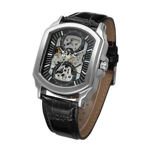 Hollow Square Automatic Mechanical Watch