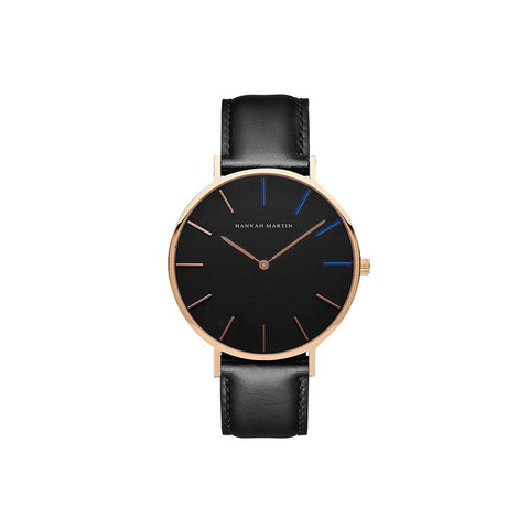 Minimalist Wedding Black Enchantment Watch