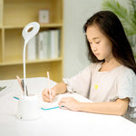 LED Table Lamp with Pen Container