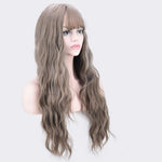 Women's Flaxen curly Wig