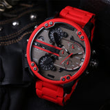 Multifunctional Large Dial Watch