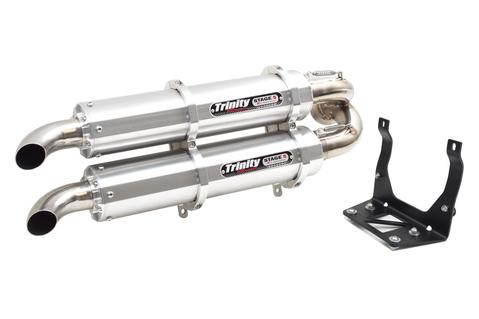 Trinity Racing Maverick X3 Slip On Exhaust