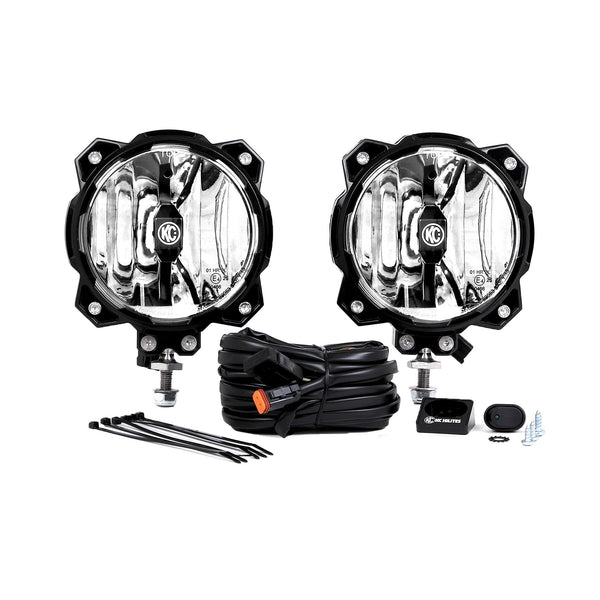 Gravity LED Pro6 Single Pair Pack System Driving Beam