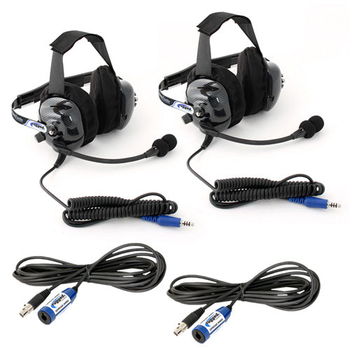 "Rugged Radios ""Plus 2"" H42 Headset and Cable Expansion Kit"
