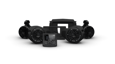 Rockford Fosgate  STG 2 PMX-1, Front & Rear Speaker Kit for Select Polaris® RZR® Models (Gen-3)