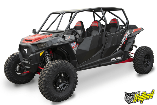 UTV Wolfpack Polaris RZR XP1000 / Turbo 4 Seat Radius Roll Cage (2014-20)
