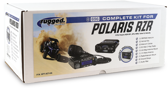 Rugged Radios Polaris RZR Kit