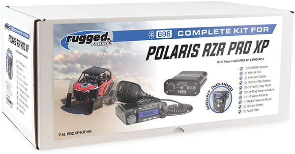 Rugged Radios Polaris RZR Pro XP Kit
