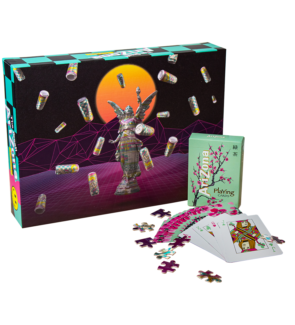 Puzzle & Green Tea Playing Card Bundle