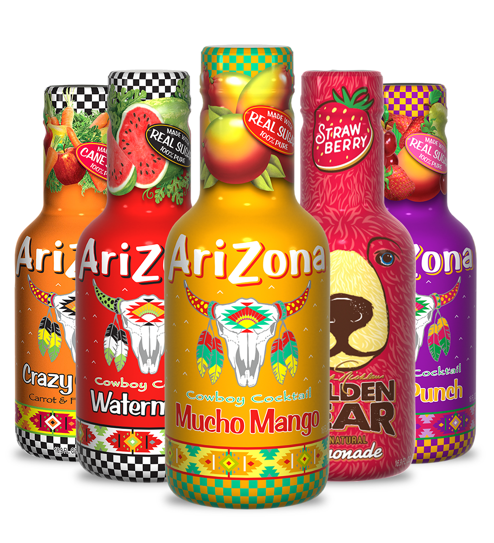 AriZona Juice Rainbow Pack