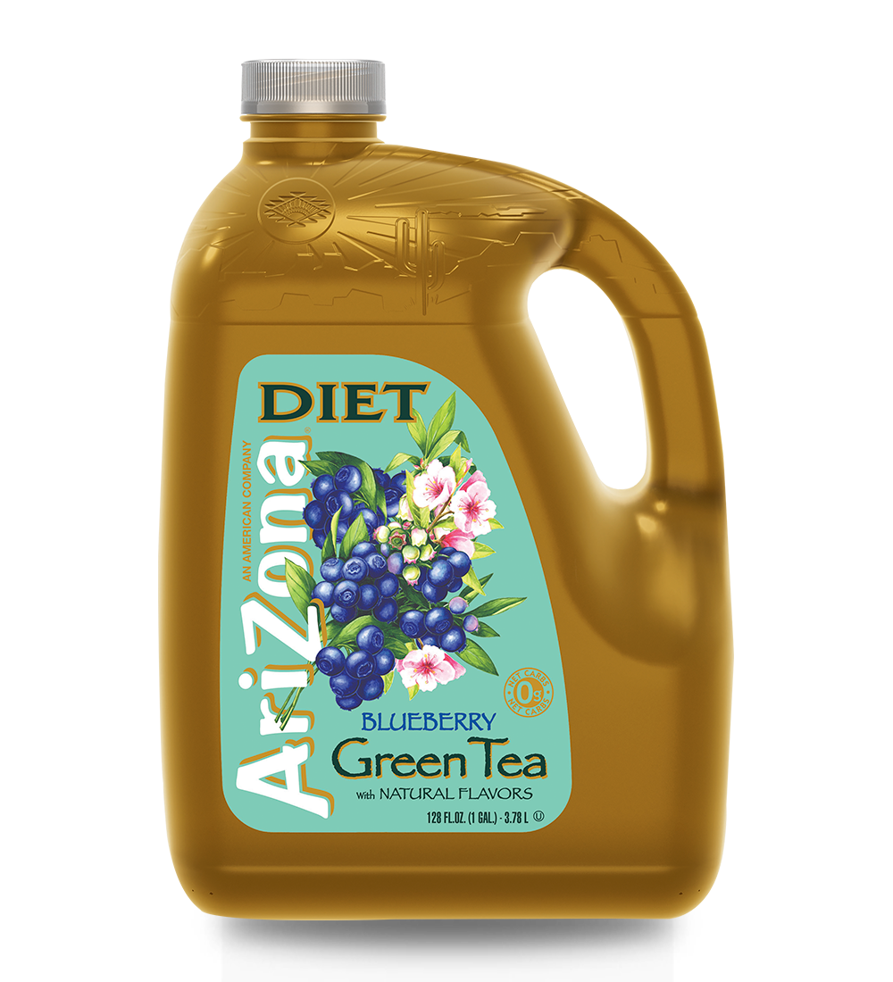 Diet Blueberry Green Tea Gallon