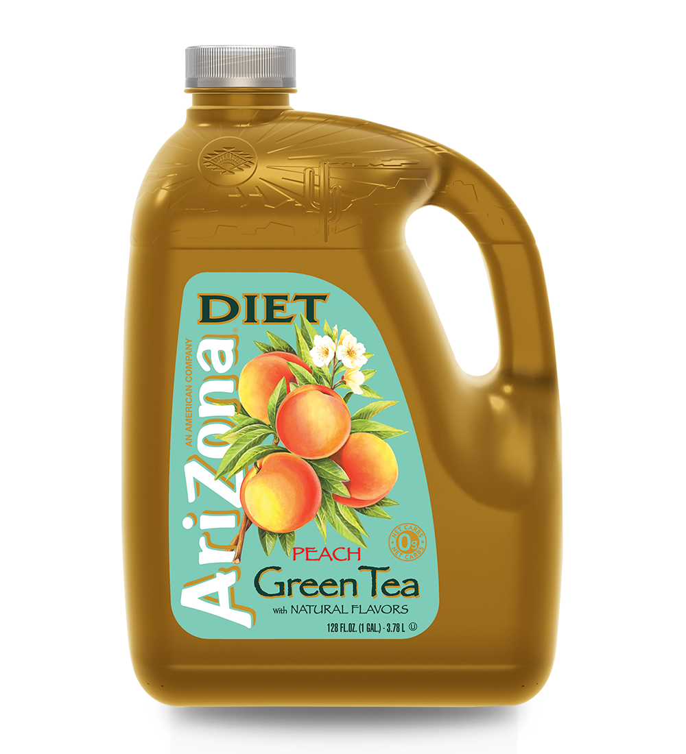 Diet Peach Green Tea Gallon