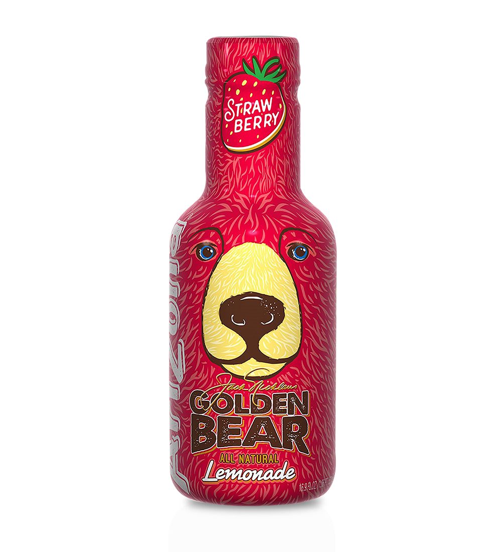 Golden Bear Strawberry Lemonade 16.9 oz