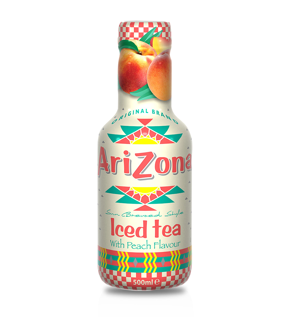 AZ 500ml PET Peach Tea (AU) 12PK