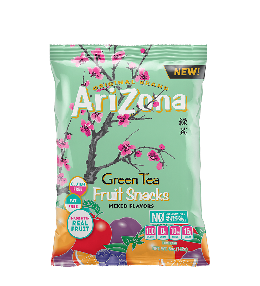 Green Tea Fruit Snacks CASE OF 12