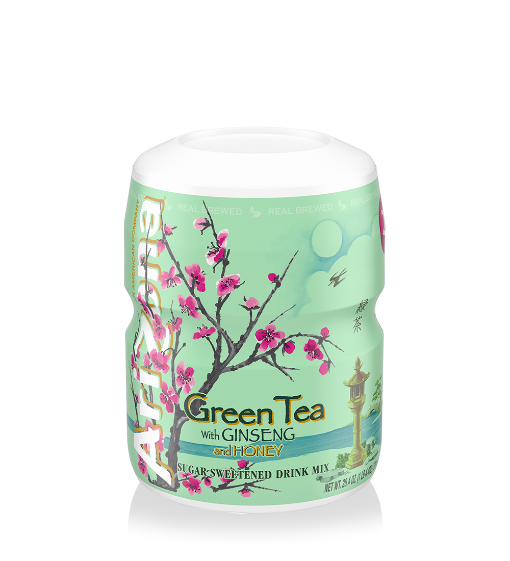 Green Tea 8qt Powder Canister Case of 12