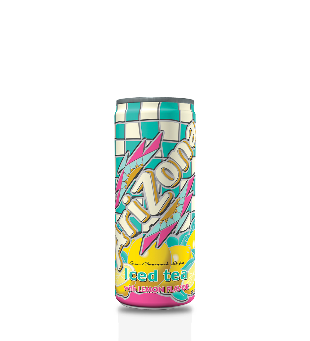 Lemon Tea 8oz Can