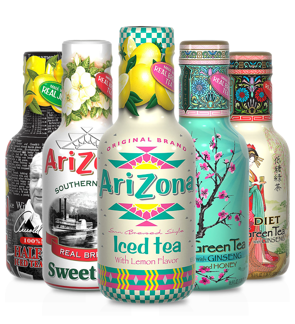 AriZona Tea Rainbow Pack (3 x 12 Pack)