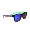 Black Matte Green Tea Sunglasses