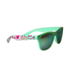 Green Matte Green Tea Sunglasses