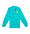 Turquoise LS Polo