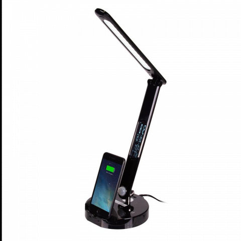 LED Lamp with Phone Charger