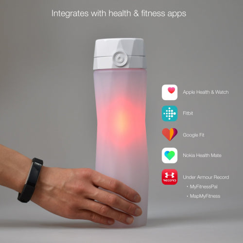 Hidrate Spark 2.0 White - The Smart Water Bottle