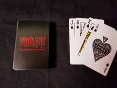 Birdand Playing Cards