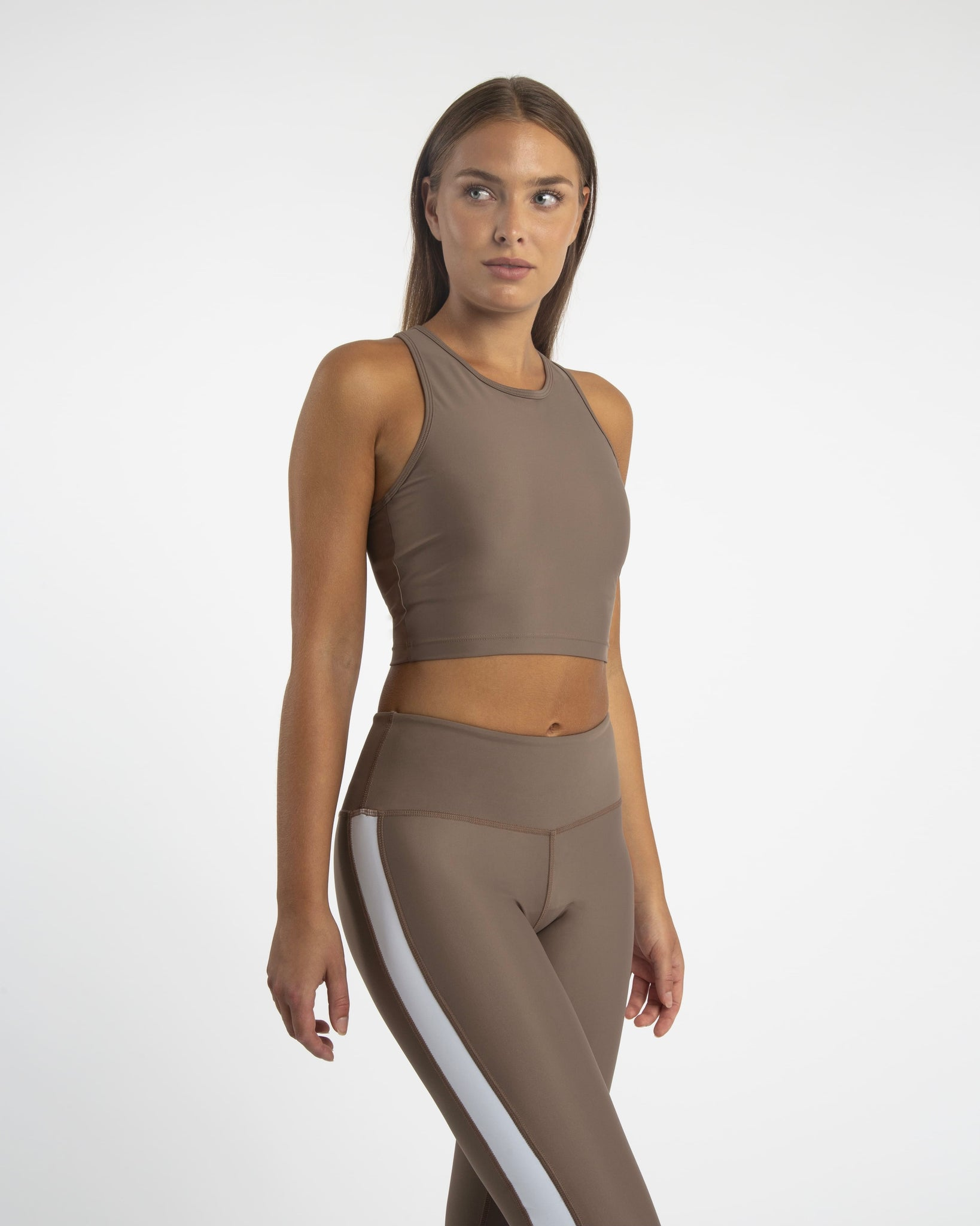 compression crop top