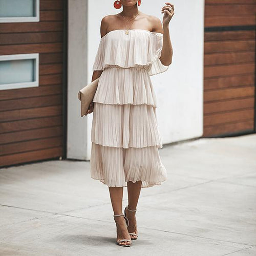 Elegant Sexy Off The Shoulder Evening Dresses