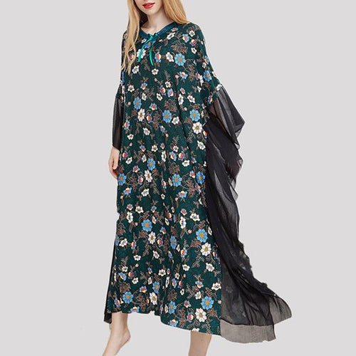 Bohemian Vacation Printed Maxi Dresses